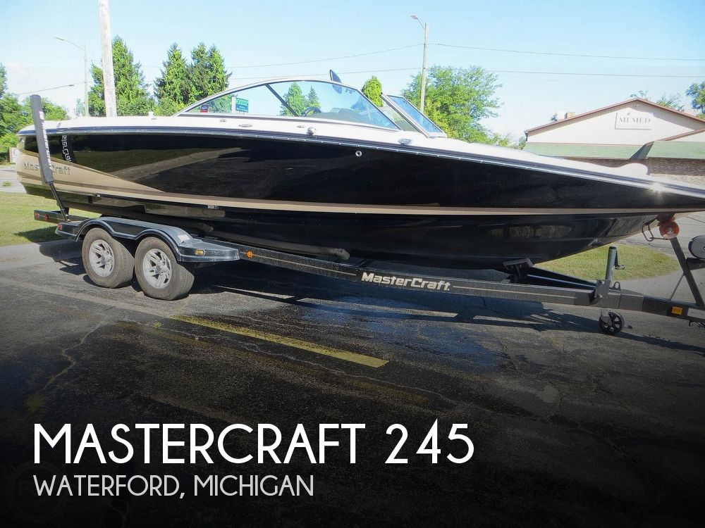 2007 Mastercraft boat for sale, model of the boat is 245 Maristar & Image # 1 of 40