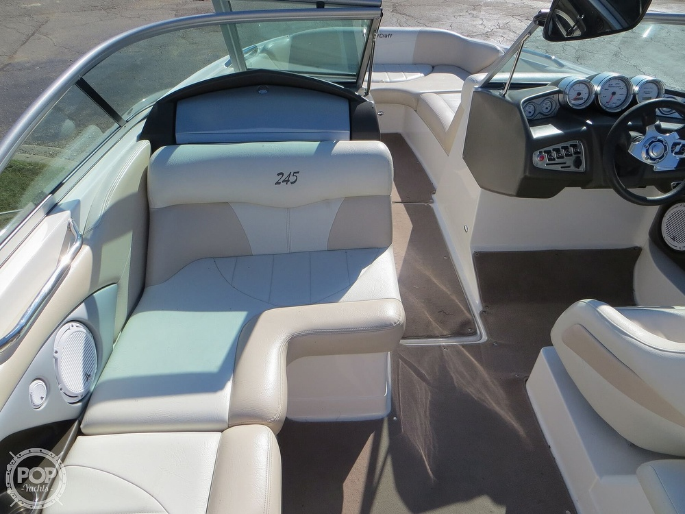 2007 Mastercraft boat for sale, model of the boat is 245 Maristar & Image # 37 of 40