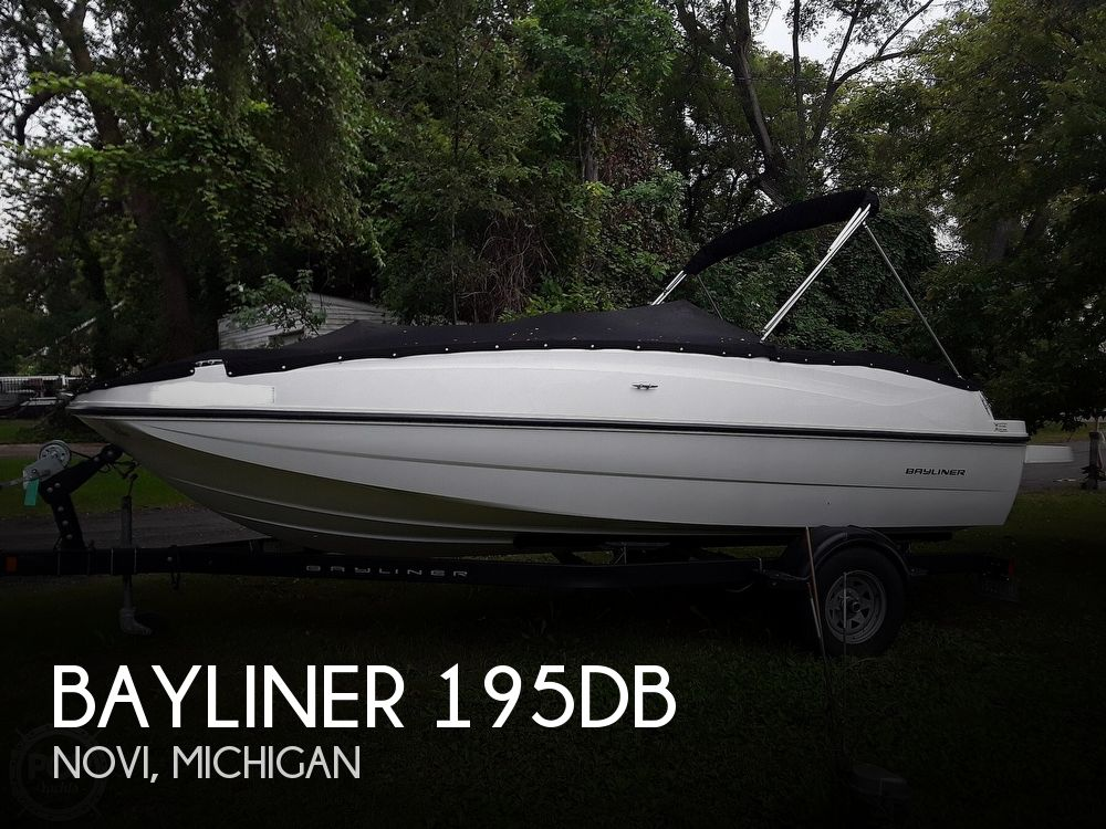 2017 Bayliner boat for sale, model of the boat is 195DB & Image # 1 of 40