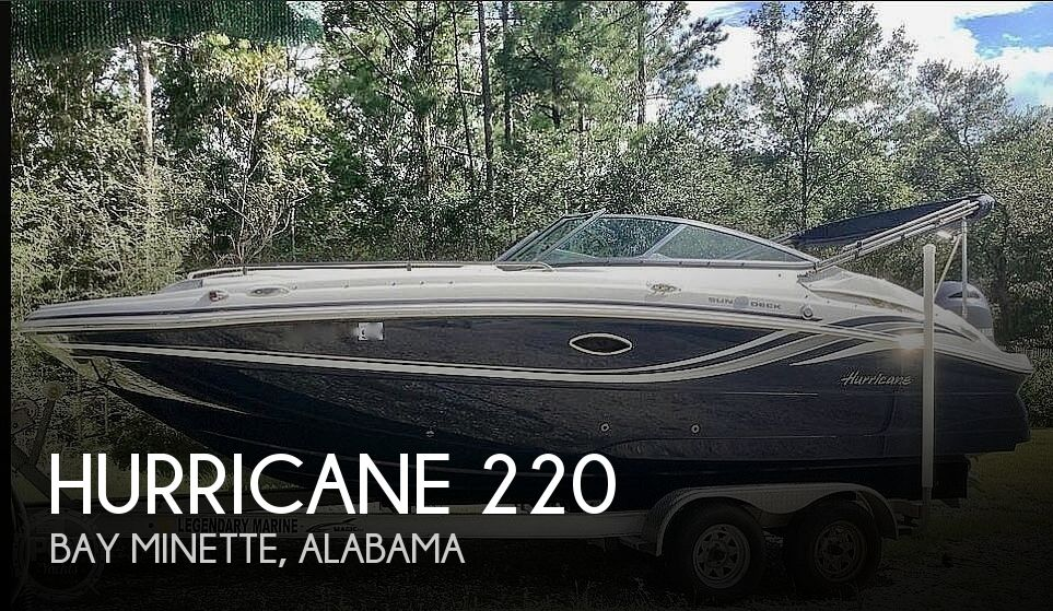 2015 HURRICANE 220 SUNDECK for sale