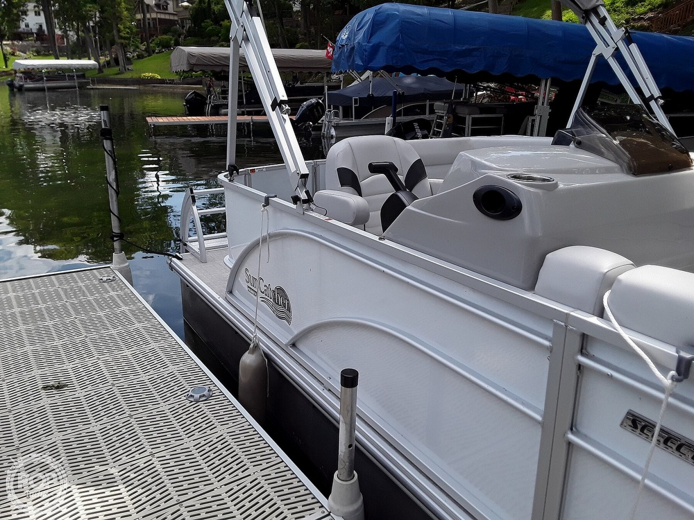 2021 SunCatcher boat for sale, model of the boat is 16C & Image # 7 of 40