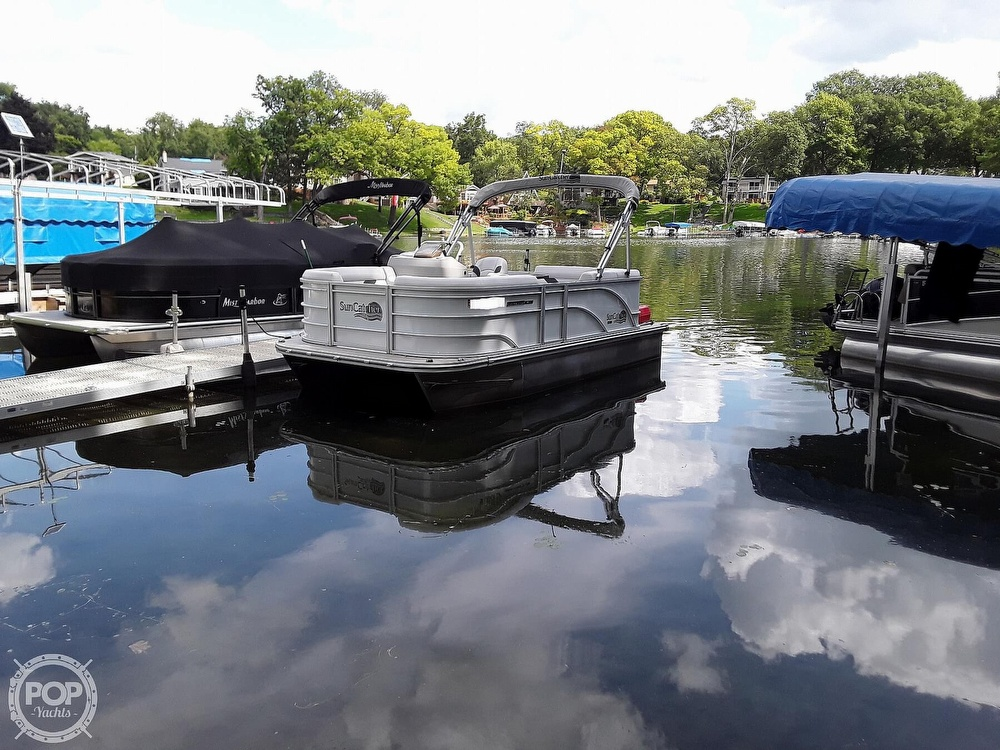 2021 SunCatcher boat for sale, model of the boat is 16C & Image # 2 of 40