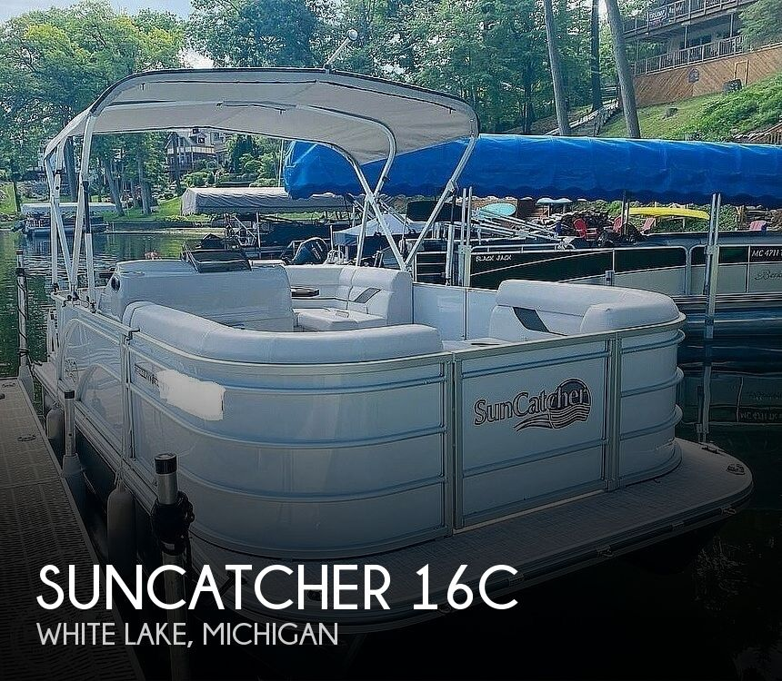 2021 SunCatcher boat for sale, model of the boat is 16C & Image # 1 of 40