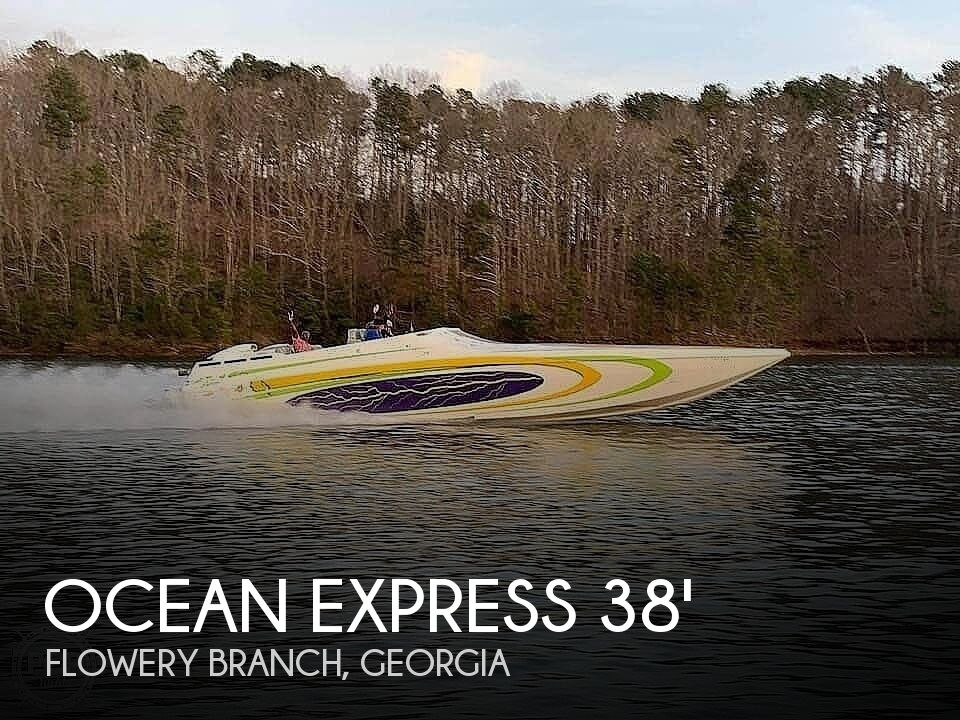 2005 Ocean Express boat for sale, model of the boat is 38' Starship & Image # 1 of 40