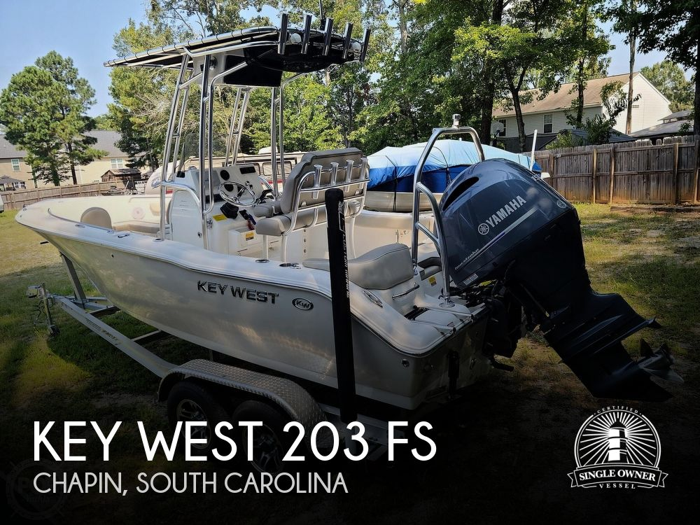 2021 Key West boat for sale, model of the boat is 203 FS & Image # 1 of 40