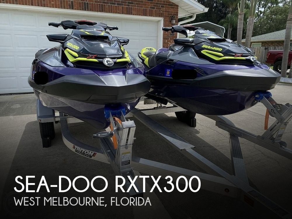 2021 Sea Doo PWC boat for sale, model of the boat is RXTX300 & Image # 1 of 40