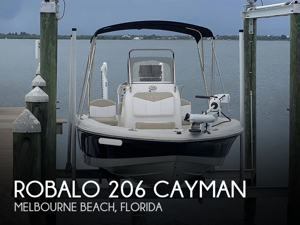 2018 Robalo boat for sale, model of the boat is 206 Cayman & Image # 1 of 40