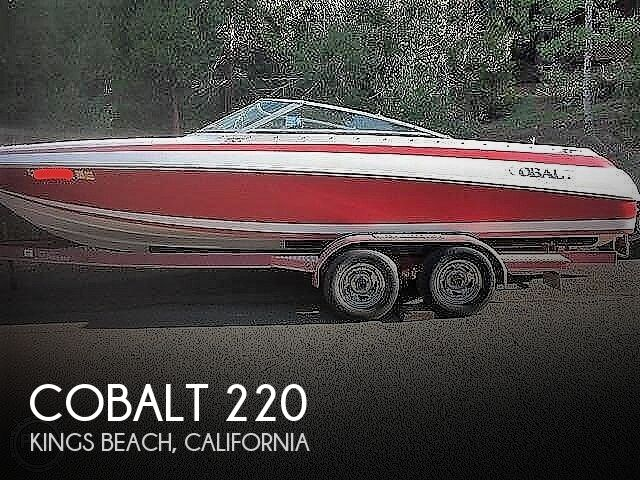 1996 Cobalt boat for sale, model of the boat is 220 & Image # 1 of 4