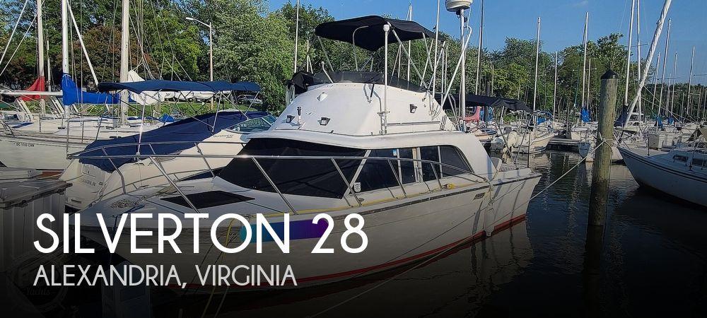 1978 Silverton boat for sale, model of the boat is 28 Sedan Flybridge & Image # 1 of 40