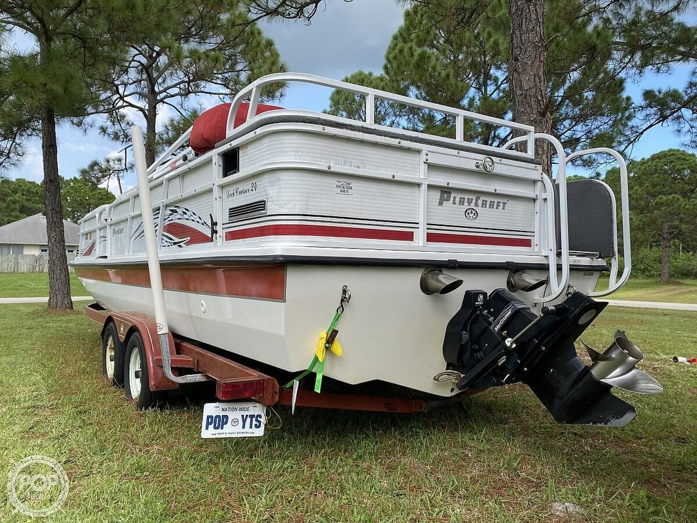 2005 Playcraft boat for sale, model of the boat is Deck-Cruiser 24 & Image # 19 of 40