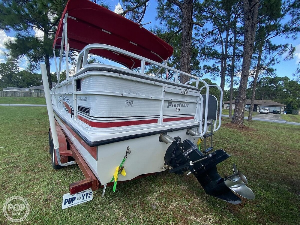 2005 Playcraft boat for sale, model of the boat is Deck-Cruiser 24 & Image # 6 of 40