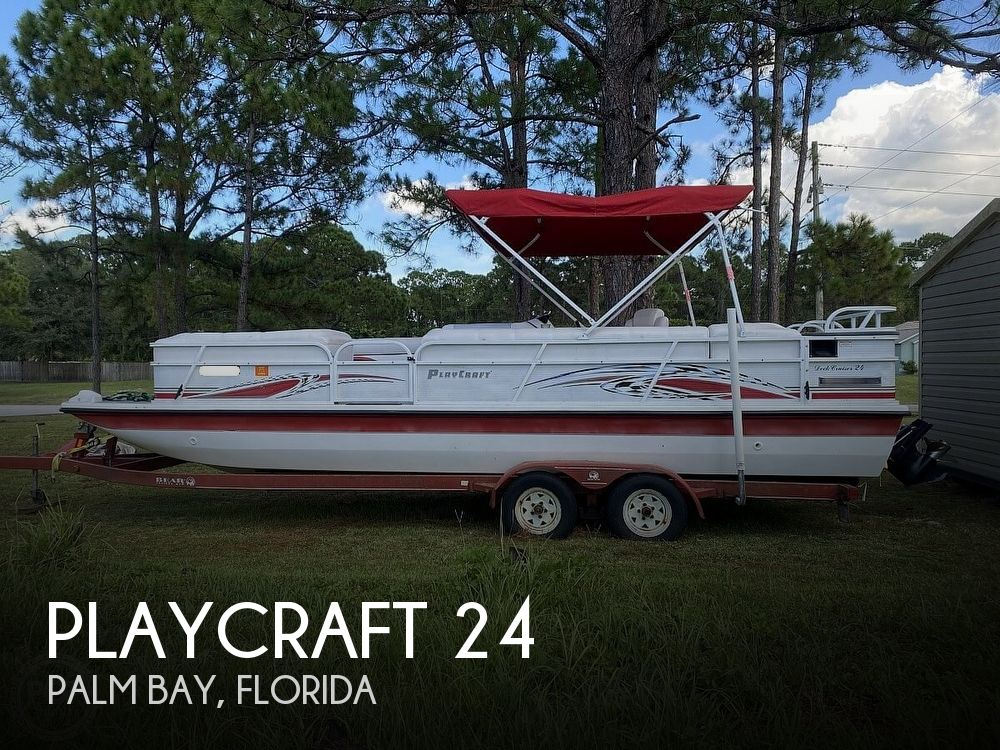 2005 Playcraft boat for sale, model of the boat is Deck-Cruiser 24 & Image # 1 of 40