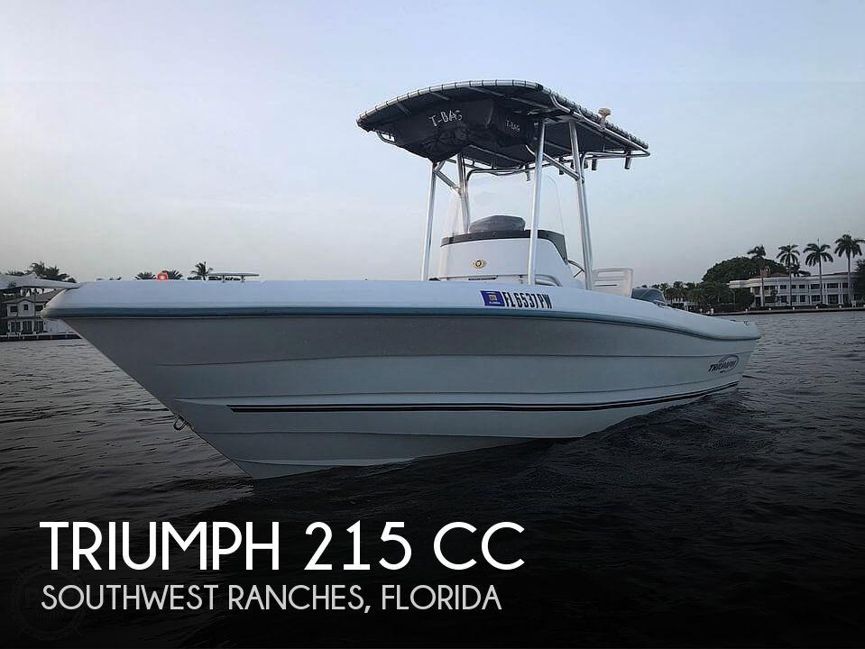 2005 TRIUMPH 215 CC for sale