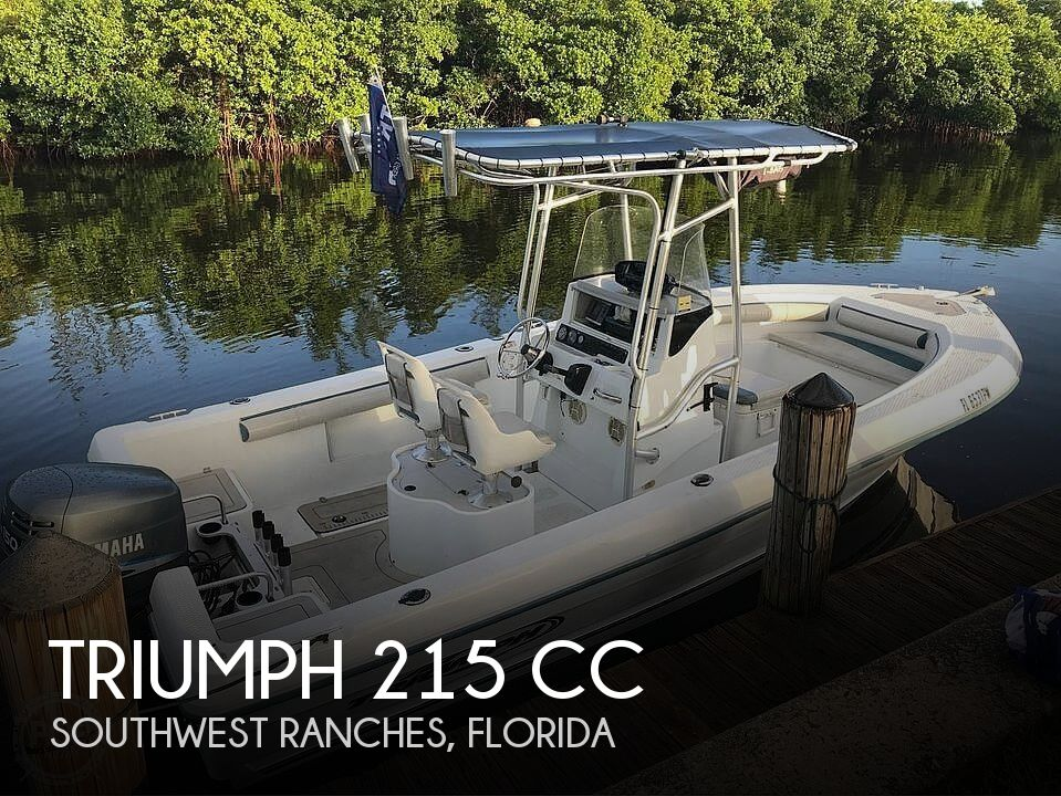 2005 Triumph boat for sale, model of the boat is 215 Cc & Image # 1 of 40