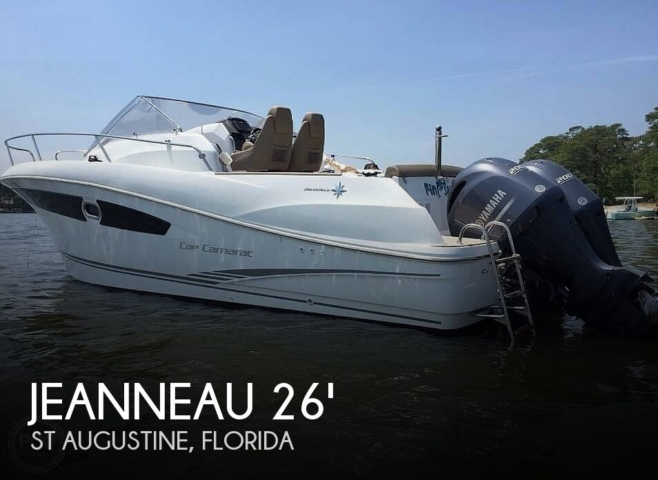 Used Power boats For Sale in Gainesville, Florida by owner | 2014 Jeanneau Cap Camarat 8.5 WA