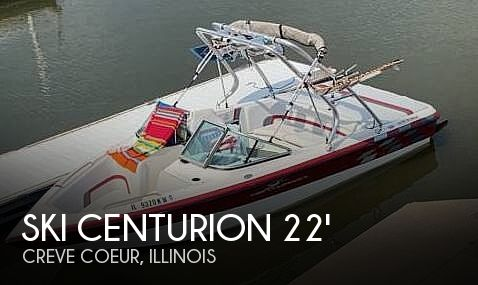 Used Power boats For Sale in Davenport, Iowa by owner   2000 22 foot Ski Centurion Elite V