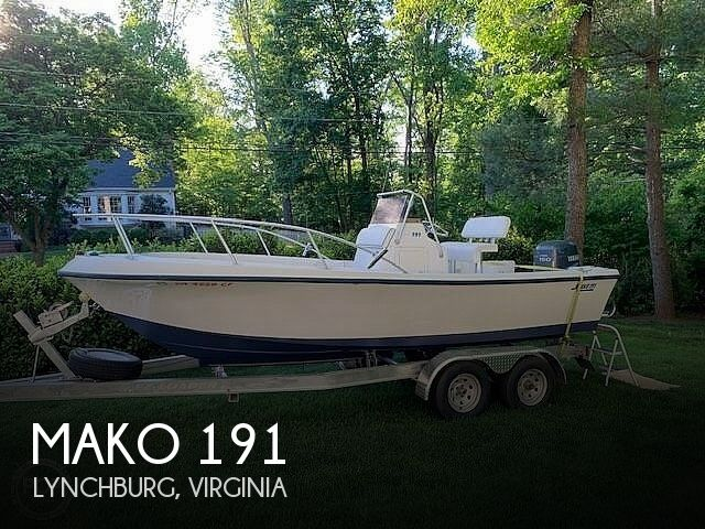 Used Power boats For Sale in Roanoke, Virginia by owner   1998 Mako 191