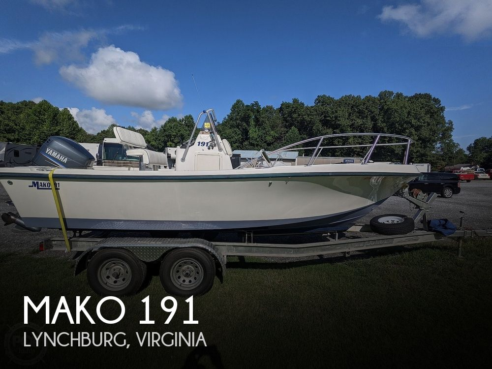 1998 Mako boat for sale, model of the boat is 191 & Image # 1 of 40