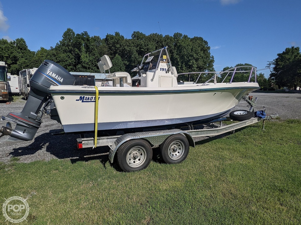 1998 Mako boat for sale, model of the boat is 191 & Image # 3 of 40