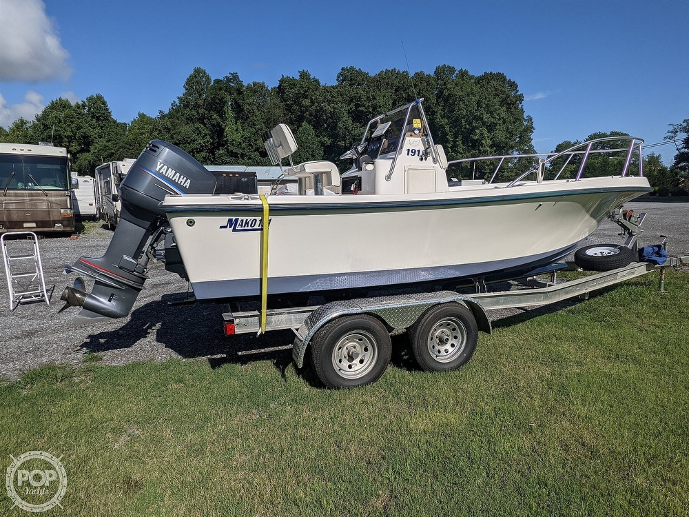 1998 Mako boat for sale, model of the boat is 191 & Image # 2 of 40