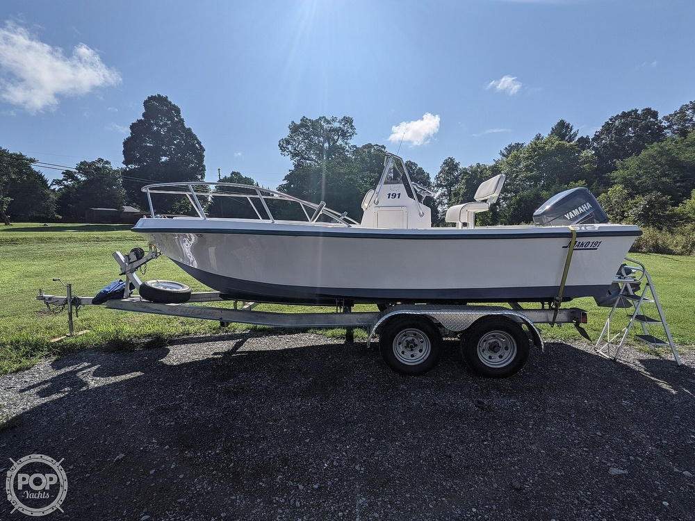 1998 Mako boat for sale, model of the boat is 191 & Image # 4 of 40