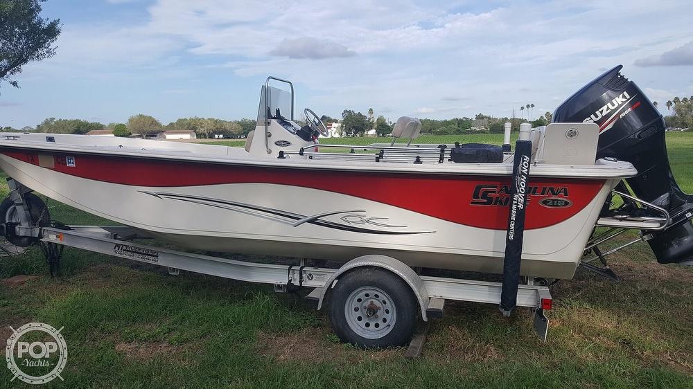 2013 Carolina Skiff boat for sale, model of the boat is 218 dlv & Image # 4 of 40