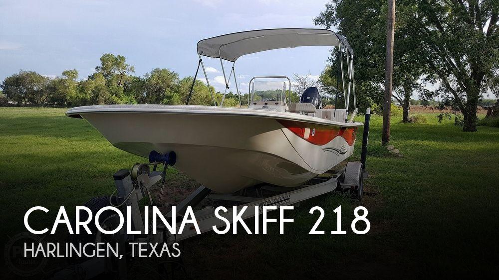 2013 CAROLINA SKIFF 218 DLV for sale