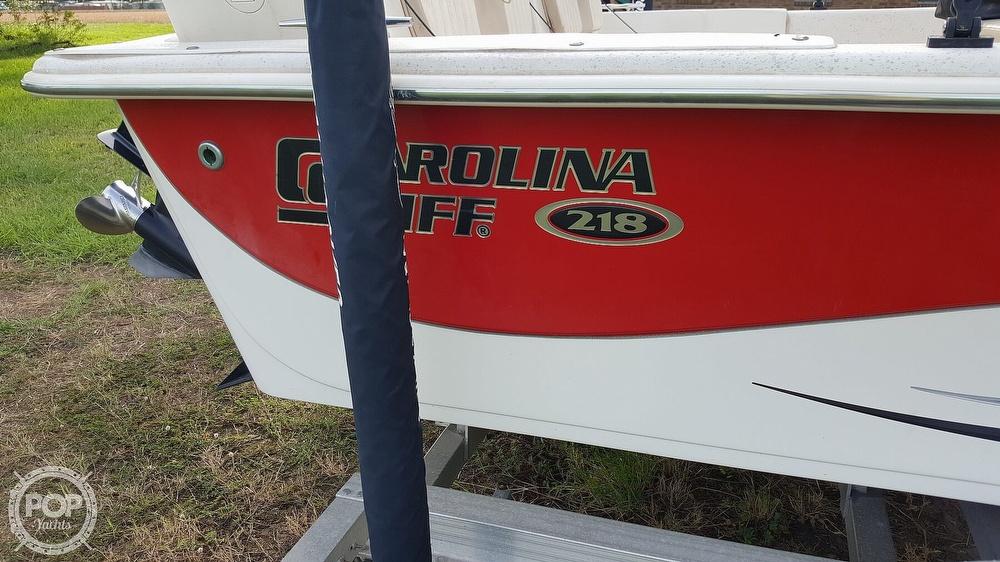 2013 Carolina Skiff boat for sale, model of the boat is 218 dlv & Image # 20 of 40