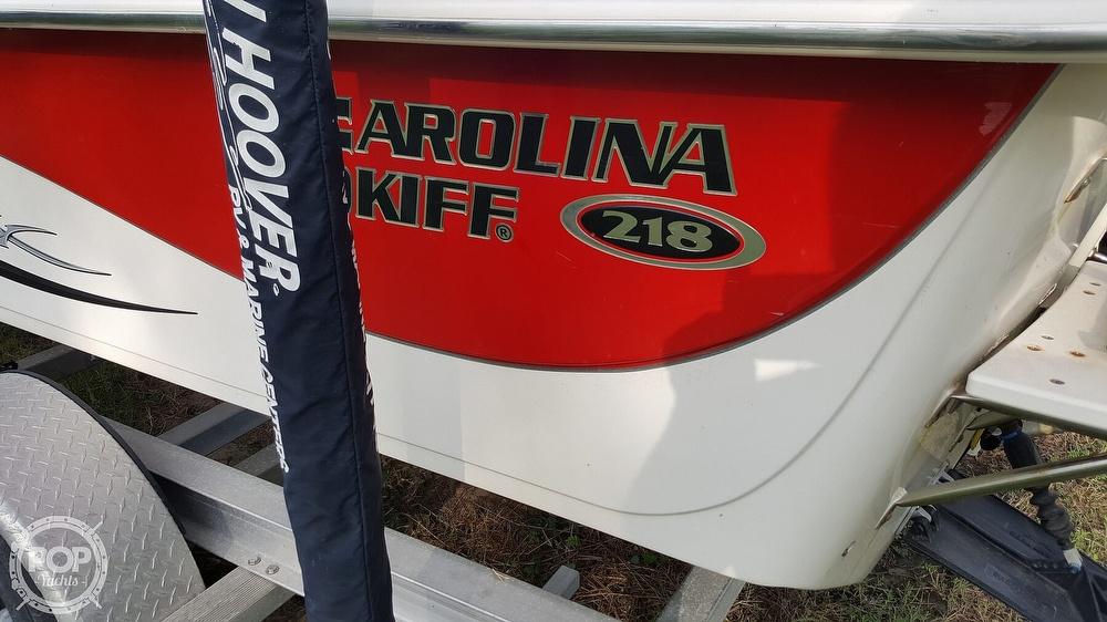 2013 Carolina Skiff boat for sale, model of the boat is 218 dlv & Image # 34 of 40