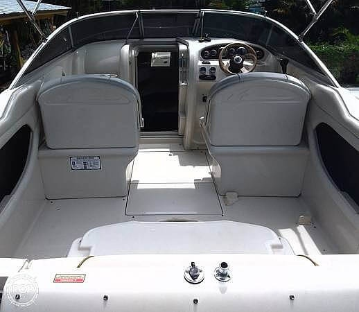 2001 Sea Ray boat for sale, model of the boat is 225 weekender & Image # 4 of 40