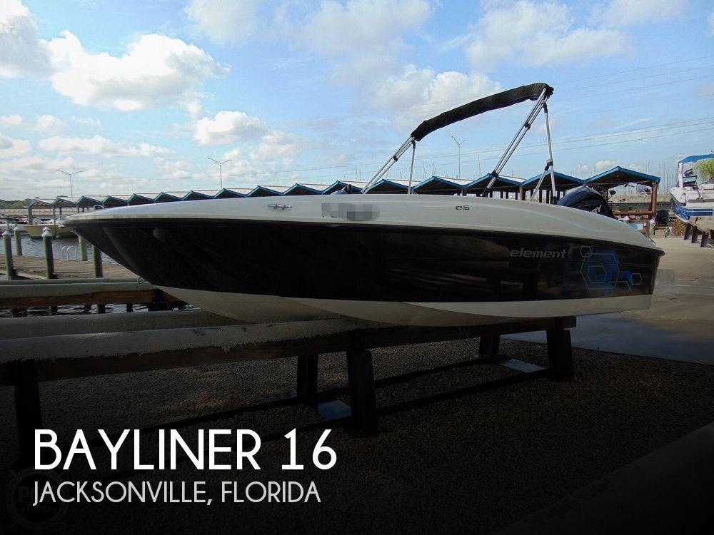 2020 Bayliner boat for sale, model of the boat is Element E16 & Image # 1 of 40