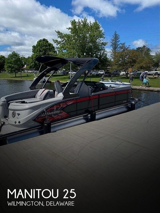 2019 Manitou boat for sale, model of the boat is 25 X-Plode SHP & Image # 1 of 17