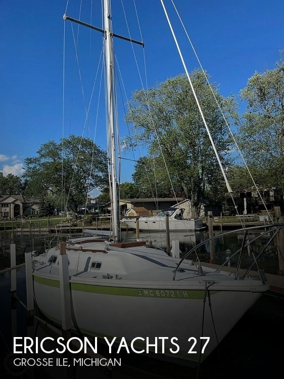 1976 Ericson Yachts boat for sale, model of the boat is 27 & Image # 1 of 35