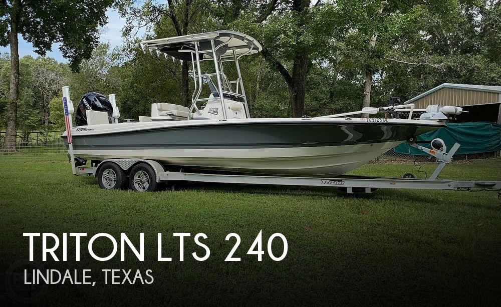 Used Power boats For Sale in Longview, Texas by owner | 2017 Triton 24