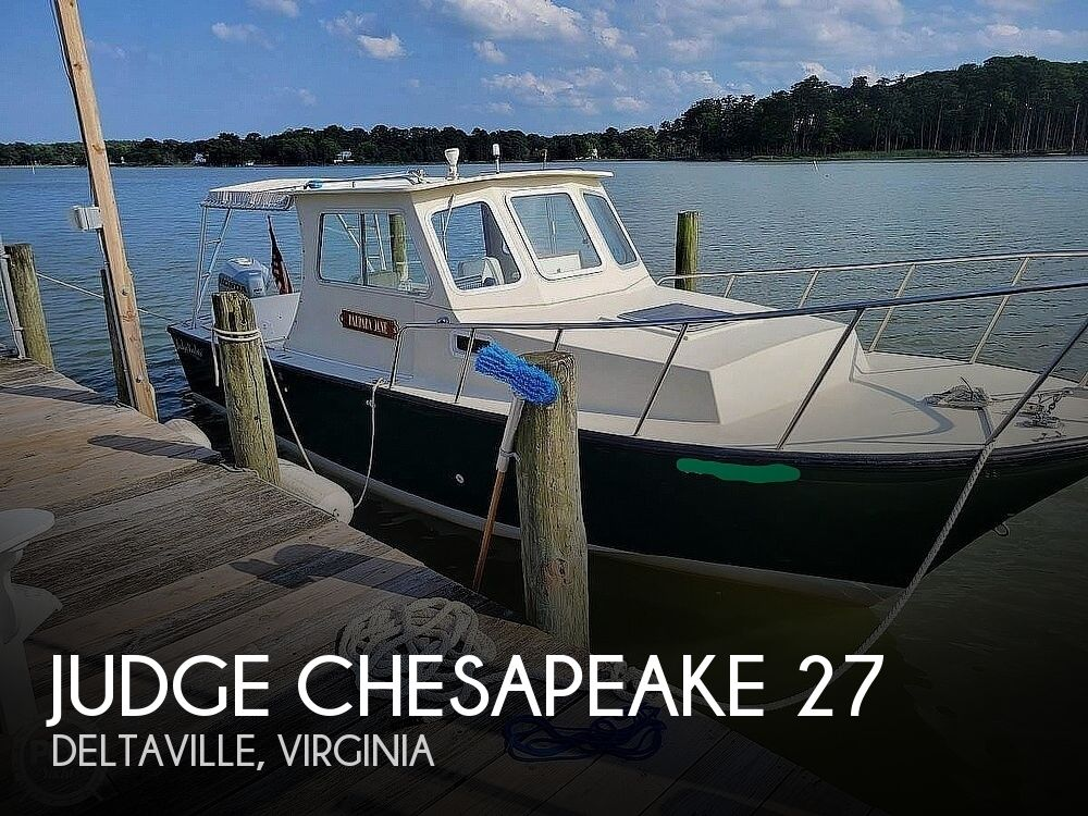 2002 Judge Yachts boat for sale, model of the boat is Chesapeake 27 & Image # 1 of 40