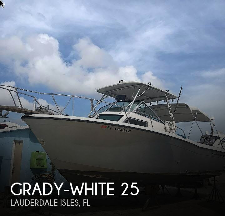 Used Grady-White 25 Boats For Sale in Florida by owner   1986 Grady-White 25