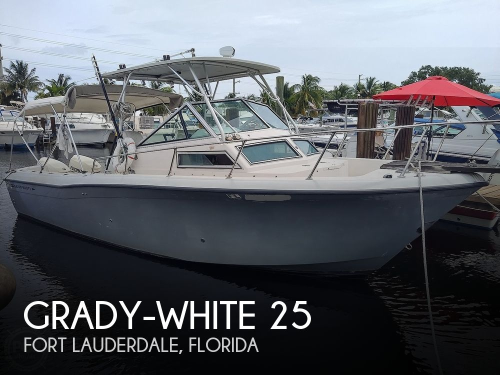 1986 Grady-White boat for sale, model of the boat is 25 Trophy Pro & Image # 1 of 40
