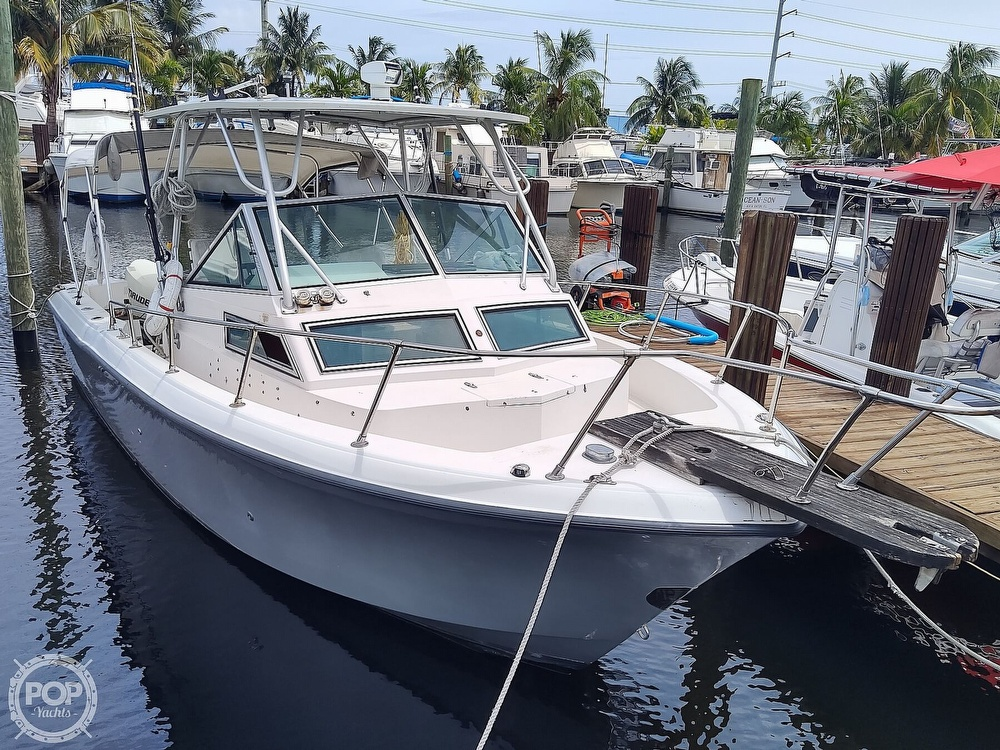 1986 Grady-White boat for sale, model of the boat is 25 Trophy Pro & Image # 2 of 40