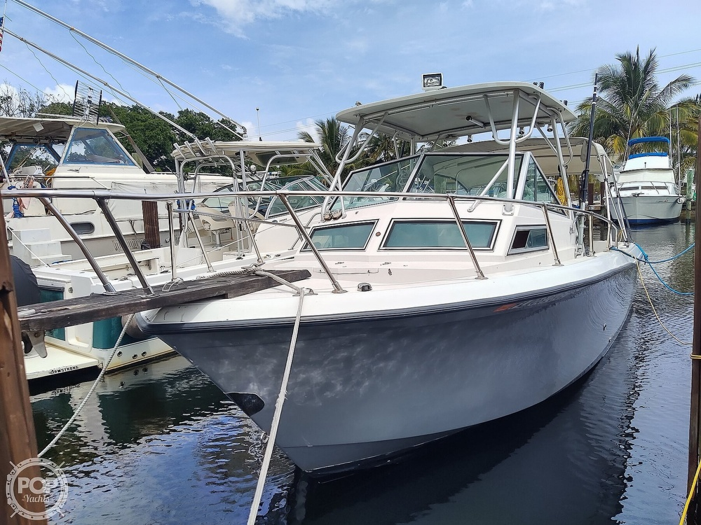 1986 Grady-White boat for sale, model of the boat is 25 Trophy Pro & Image # 10 of 40