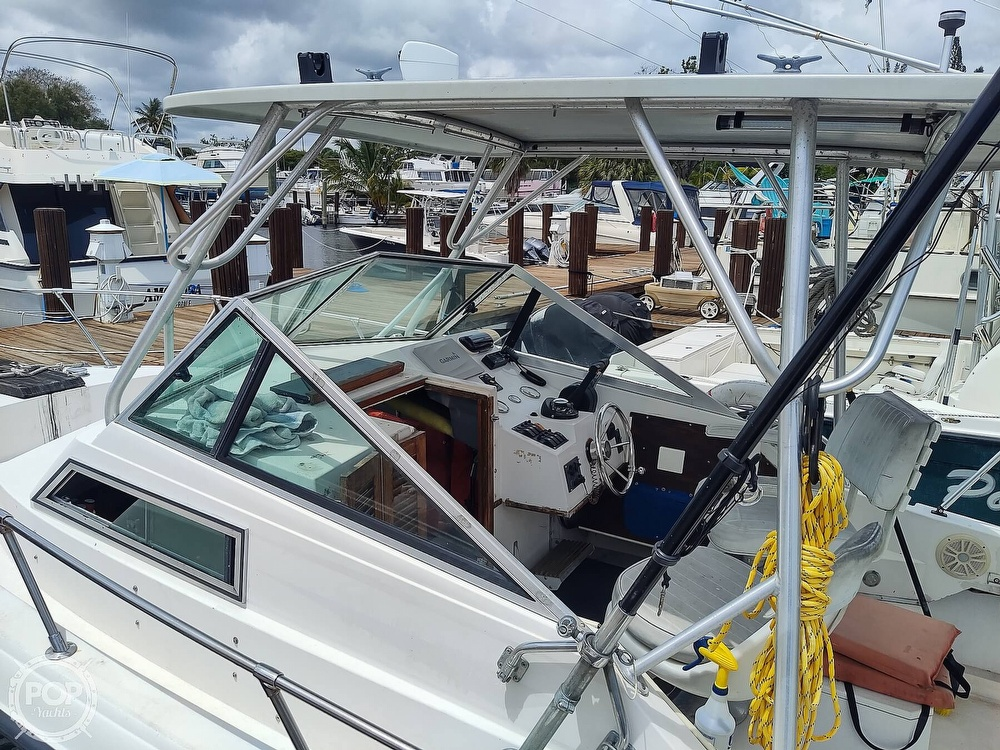1986 Grady-White boat for sale, model of the boat is 25 Trophy Pro & Image # 14 of 40