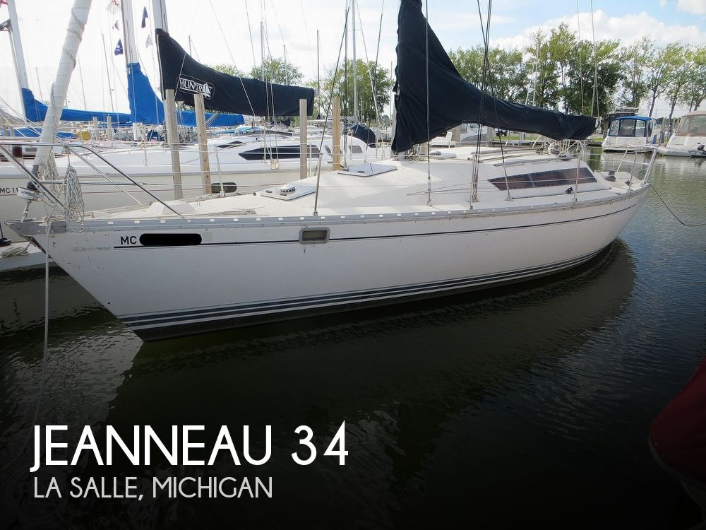 1986 Jeanneau boat for sale, model of the boat is Sun Rise 34 & Image # 1 of 40