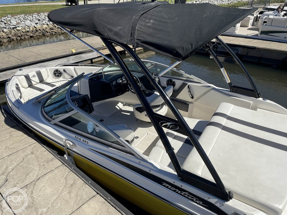 2014 Monterey boat for sale, model of the boat is 186 MS & Image # 3 of 40