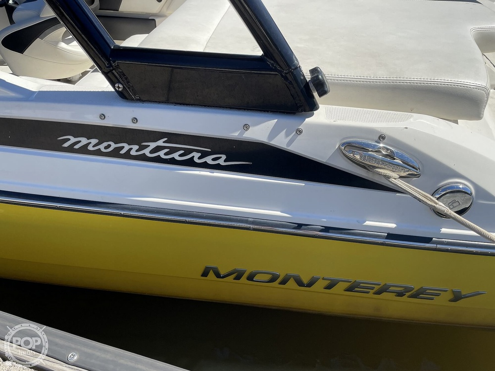 2014 Monterey boat for sale, model of the boat is 186 MS & Image # 4 of 40
