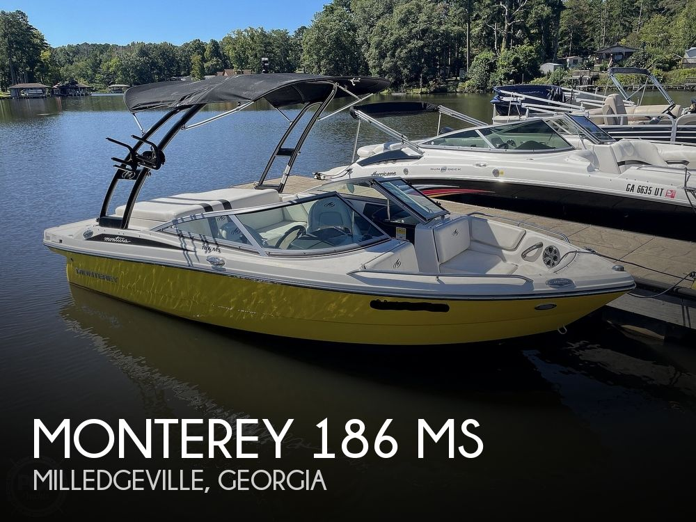 2014 Monterey boat for sale, model of the boat is 186 MS & Image # 1 of 40