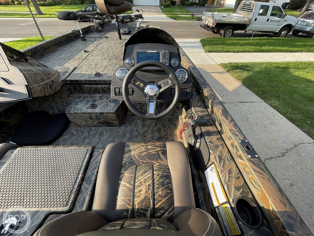 2017 Ranger Boats boat for sale, model of the boat is RT198P & Image # 25 of 40