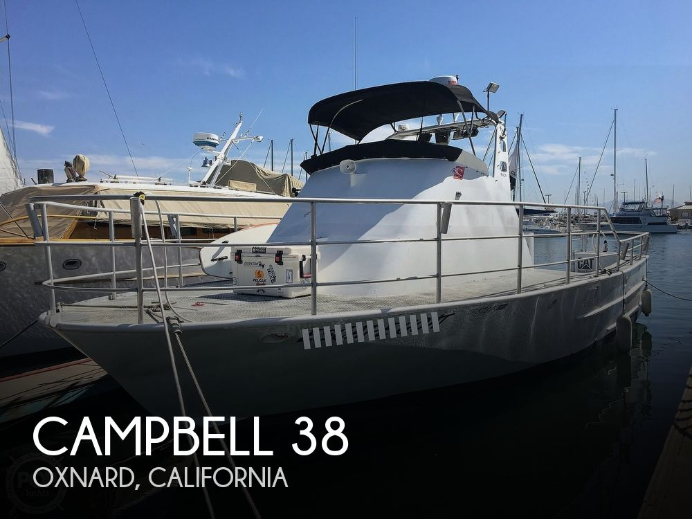 1976 Campbell boat for sale, model of the boat is 38 & Image # 1 of 40