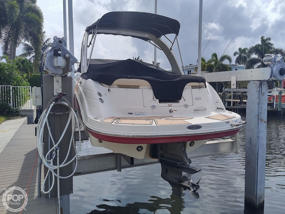 2007 Chaparral boat for sale, model of the boat is 256 SSI & Image # 12 of 40