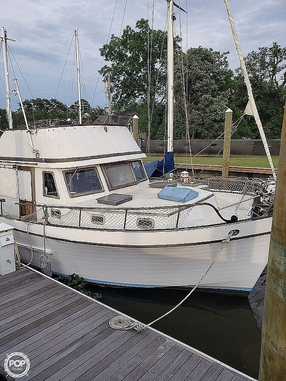 1979 Marine Trader boat for sale, model of the boat is 43 & Image # 2 of 12