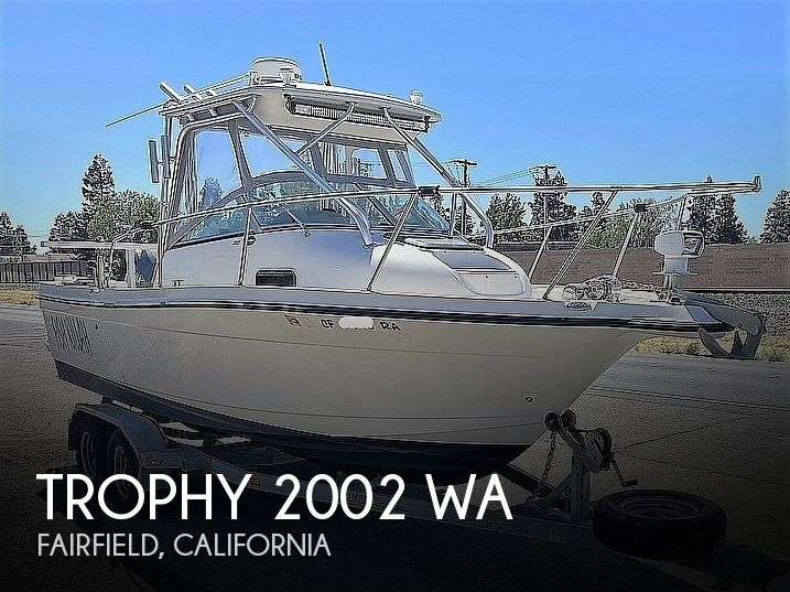 2003 Trophy boat for sale, model of the boat is 2002 WA & Image # 1 of 1