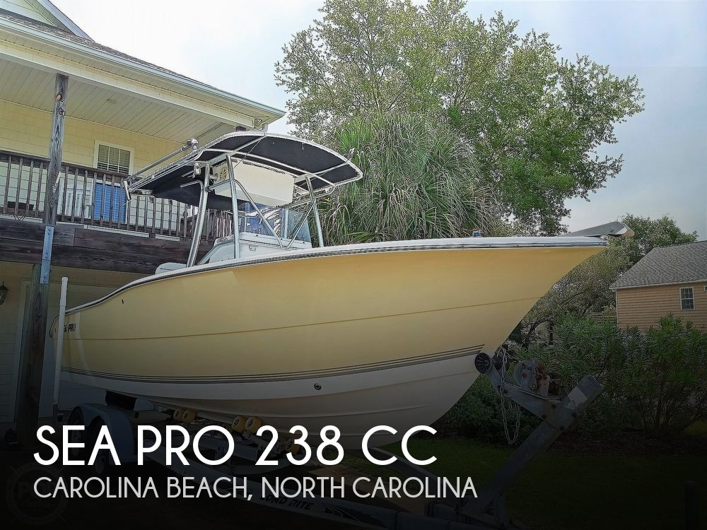 2007 Sea Pro boat for sale, model of the boat is 238 CC & Image # 1 of 40